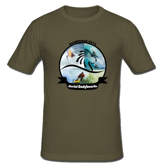 Aerial Bodyboards T-Shirt Vintage